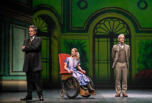 Am Mittwoch abend feierte das Musical Heidi in Wien eine viel bejubelte Premiere.