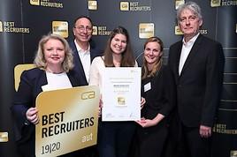 """ISS Facility Services Österreich ist """"Best Recruiter"""""""