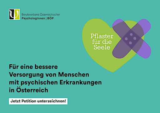 Petition des Berufsverbandes Österreichischer PsychologInnen