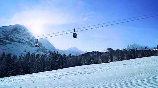 Gondelbahn auf den Männlichen, Berner Oberland