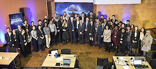 Teilnehmer*innen der Cybersecurity Innovation Challenge