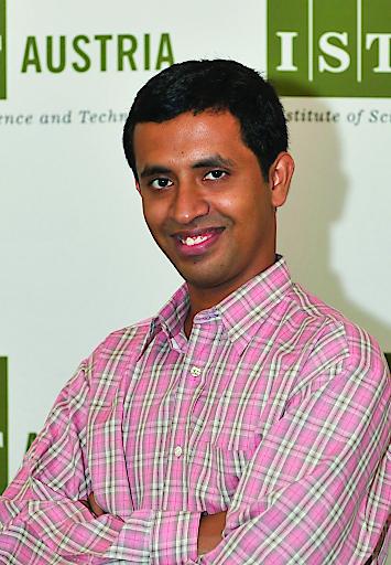 Computerwissenschaftler, Professor Krishnendu Chatterjee, IST Austria