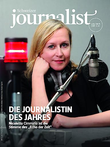 """Nicoletta Cimmino ist die «Journalistin des Jahres» 2019. Weiterer Text über ots und www.presseportal.de/nr/66148 / Die Verwendung dieses Bildes ist für redaktionelle Zwecke honorarfrei. Veröffentlichung bitte unter Quellenangabe: """"obs/Medienfachverlag Oberauer GmbH"""""""