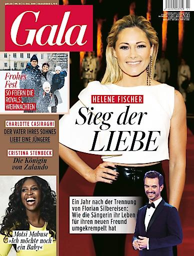 """GALA Cover 51/2019 (EVT: 12. Dezember 2019). Weiterer Text über ots und www.presseportal.de/nr/6106 / Die Verwendung dieses Bildes ist für redaktionelle Zwecke honorarfrei. Veröffentlichung bitte unter Quellenangabe: """"obs/Gruner+Jahr, Gala"""""""