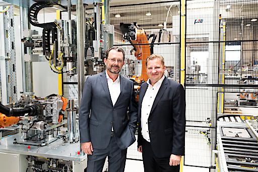 PIA Automation Austria Geschäftsführung: Nikolaus Szlavik (l) und Norbert Kahr (r).
