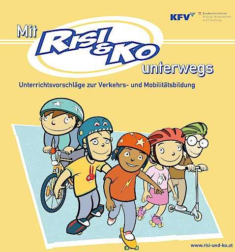 """Neue Unterrichtsmaterialien für Verkehrserziehung: """"Risi & Ko"""" nun auch für Volksschulen erhältlich"""