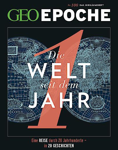 """Cover GEO EPOCHE 20. Jubiläum / Weiterer Text über ots und www.presseportal.de/nr/108005 / Die Verwendung dieses Bildes ist für redaktionelle Zwecke honorarfrei. Veröffentlichung bitte unter Quellenangabe: """"obs/Gruner+Jahr, GEO EPOCHE"""""""