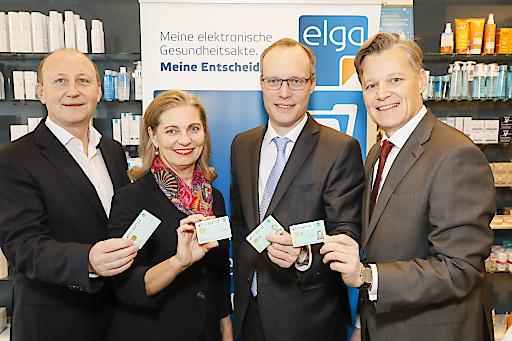 https://www.apa-fotoservice.at/galerie/21811 vlnr: Mag.pharm.Christian Wurstbauer, Mag. pharm. Dr. Ulrike Mursch-Edlmayr, Dr. Alexander Biach, DI (FH) Volker Schörghofer