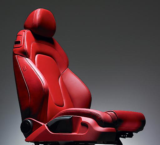 Ledersitzbezug von Boxmark für Audi TT Sitz