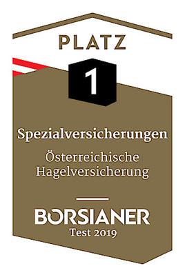 Österreichische Hagelversicherung: Drei Mal höchste Auszeichnung