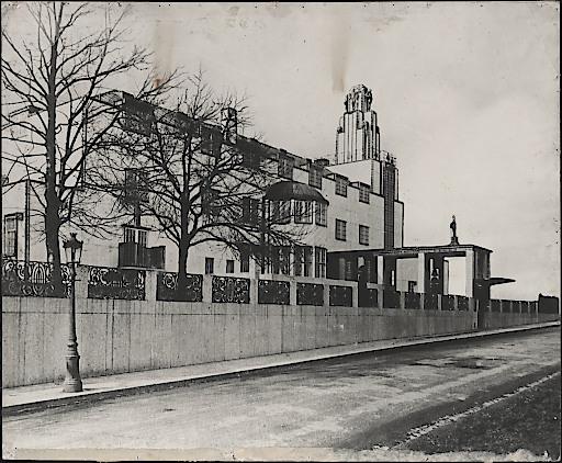 Josef Hoffmann, Palais Stoclet, Brüssel, 1914