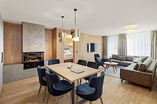 47 neue Zimmer und Suiten bietet das Zugspitz Resort, das am 7. Dezember nach einer neunmonatigen Umbauphase eröffnet wurde.