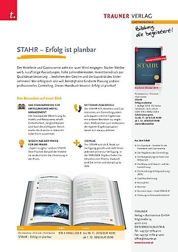 """""""STAHR - Erfolg ist planbar"""" reüssiert auf der Frankfurter Buchmesse"""