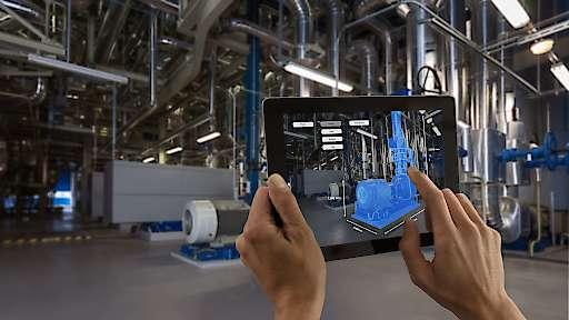 """Fraunhofer IPT und Ericsson starten mit 5G-Industry Campus Europe größtes industrielles 5G-Forschungsnetz Europas / Mithilfe der schnellen 5G-Datenübertragung können alle Produktions- und Sensordaten in einem Digitalen Zwilling gespeichert werden, der die vollständige Produktionshistorie enthält. Weiterer Text über ots und www.presseportal.de/nr/13502 / Die Verwendung dieses Bildes ist für redaktionelle Zwecke honorarfrei. Veröffentlichung bitte unter Quellenangabe: """"obs/Ericsson GmbH"""""""