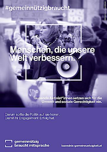 2,3 Millionen Freiwillige und 250.000 Beschäftigte im gemeinnützigen Sektor verdienen mehr Wertschätzung und bessere Rahmenbedingungen.