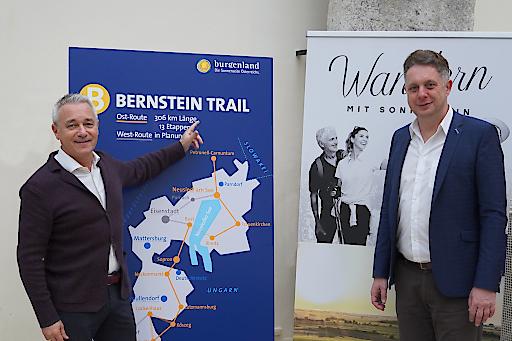 Burgenland Tourismus-Geschäftsführer Hannes Anton und Tourismuslandesrat MMag. Alexander Petschnig