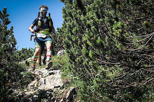 Gerhard Lamprecht - Gewinner der Run2yourLimits Challenge 2019 – absolvierte den Bergmarathon mit persönlicher Bestzeit.