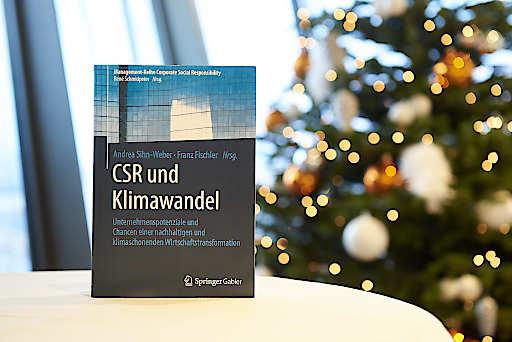 """Management-Buch """"CSR und Klimawandel"""""""