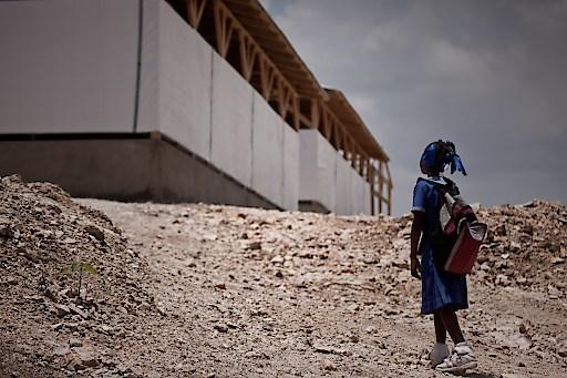 80 Prozent aller Schulgebäude wurden durch das verheerende Erdbeben zerstört, neun davon hat die Kindernothilfe wieder aufgebaut.
