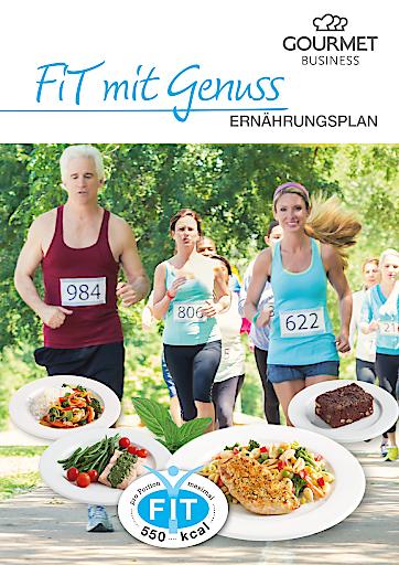 Fit mit Genuss ins neue Jahr! Gourmet Fit-Speisen mit max. 550 kcal.