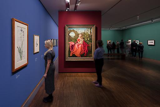 Ausstellungsansicht Dürer