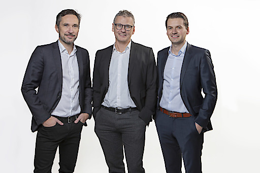 Das Geschäftsführungsteam von Austrotherm Österreich per 1.1.2020 (von links): Mag. Robert Novak, Mag. Klaus Haberfellner und Dr. techn. Heimo Pascher.