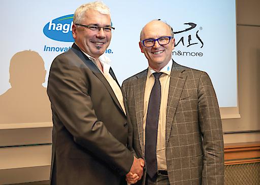 V. l.: BULS-Geschäftsführer Harald Lembacher und Hans Georg Hagleitner