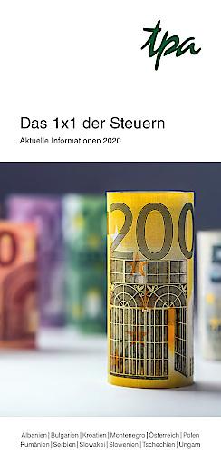 Das 1x1 der Steuern