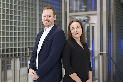 Kompetenz im KMU-Service: Anja Lenz und Jürgen Skopal