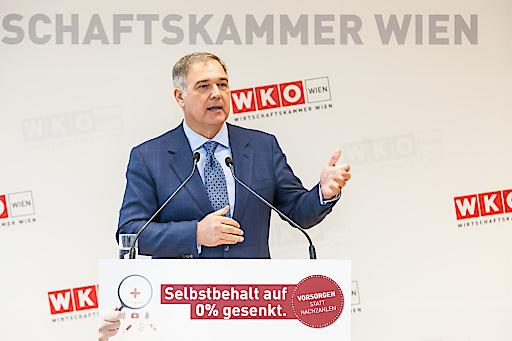 Paukenschlag: WK Wien-Ruck senkt Arzt-Selbstbehalt für gesundheitsbewusste Unternehmer auf null!