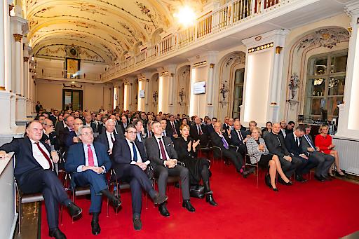 Mehr als 150 Gäste folgten der Einladung zum DHK Neujahrsempfang 2020 in der Aula der Alten Universität Graz.