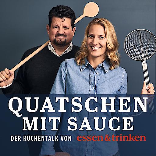 """Podcast ESSEN&TRINKEN """"Quatschen mit Sauce"""". Weiterer Text über ots und www.presseportal.de/nr/41300 / Die Verwendung dieses Bildes ist für redaktionelle Zwecke honorarfrei. Veröffentlichung bitte unter Quellenangabe: """"obs/Verlagsgruppe Deutsche-Medienmanufaktur (DMM), ESSEN&TRINKEN/Podcast E&T Quatschen mit Sauce"""""""