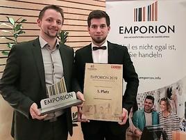 Regionalis gewinnt den EMPORION Handelspreis