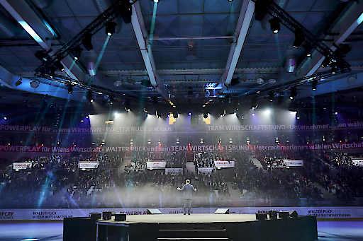 Voll besetzte ERSTE Bank Eishockey Arena
