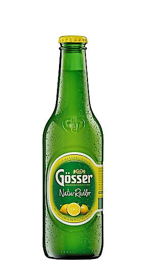Der erfrischende Geschmack des Gösser NaturRadler ist in Deutschland seit Jahren beliebt.