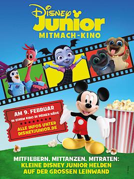 Kleine Helden auf der großen Leinwand! Das Disney Junior Mitmach-Kino - Am 9. Februar 2020 in Deutschland, Österreich und der Schweiz (FOTO)