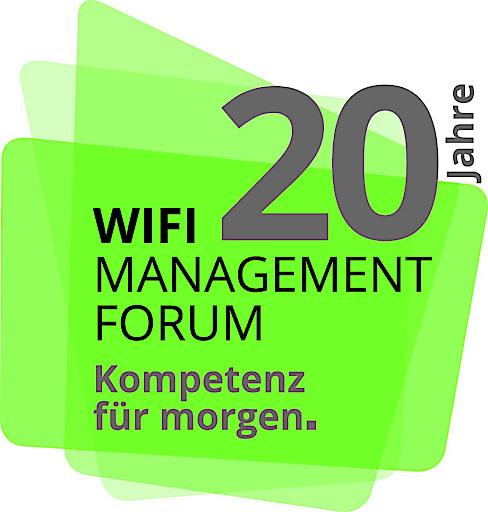 Aktionslogo 20 Jahre WIFI Management Forum