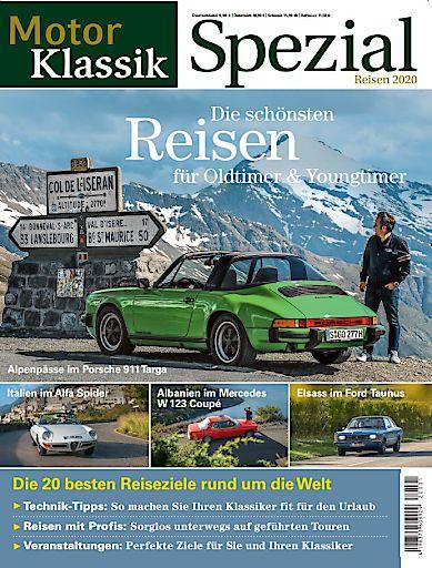 """Cover MKL SPEZIAL Klassiker-Reisen. Weiterer Text über ots und www.presseportal.de/nr/22036 / Die Verwendung dieses Bildes ist für redaktionelle Zwecke honorarfrei. Veröffentlichung bitte unter Quellenangabe: """"obs/Motor Presse Stuttgart"""""""