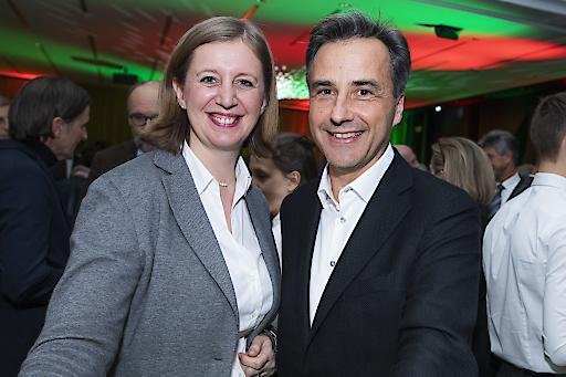 Bürgermeister Siegfried Nagl und Landesrätin Barbara Eibinger-Miedl unterstützen bei der Gründung von grünen Sommer Start-ups.