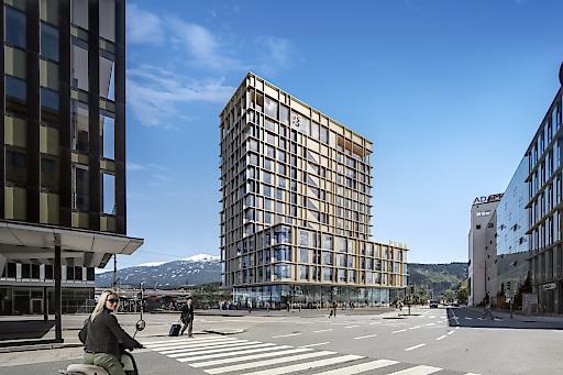 PEMA Turm 3 im Zentrum Innsbruck