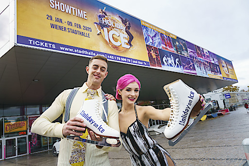 Holiday on Ice SHOWTIME: Liebeserklärung an das Entertainment on Ice | Wiener Stadthalle