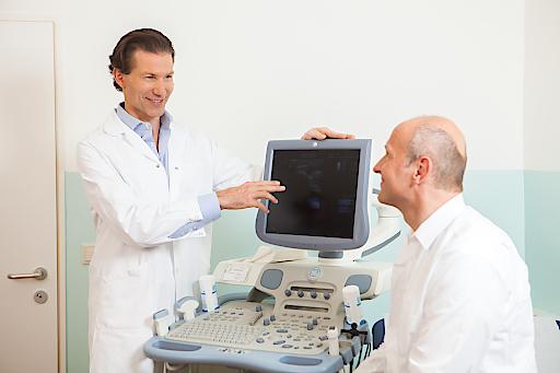 Nach entsprechender Diagnostik setzt Urologe Priv.-Doz. Dr. Markus Margreiter die jeweils beste Behandlungsmethode ein.