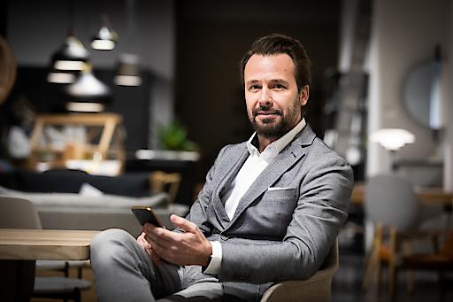 Michael Rabenstein baut das Geschäft von Doro in Österreich auf.