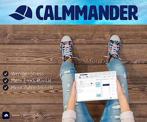 CALMMANDER: Das weltweit 1. integrierte Management-und Coaching-Programm