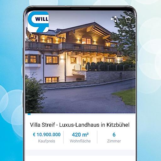 """Zum Start des 80. Hahnenkamm-Rennens: Prachtvolle Villa """"Streif"""" auf willhaben erhältlich"""