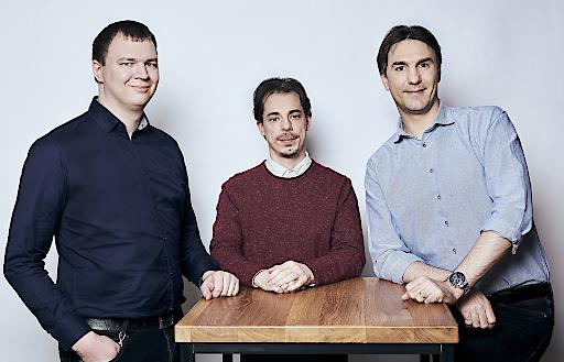 """Die AnyDesk Gründer Olaf Liebe, Philipp Weiser und Andreas Mähler (v.l.n.r.) freuen sich auf die zusätzlichen Wachstumsmöglichkeiten durch die Partnerschaft mit Insight Partners. Weiterer Text über ots und www.presseportal.de/nr/113493 / Die Verwendung dieses Bildes ist für redaktionelle Zwecke honorarfrei. Veröffentlichung bitte unter Quellenangabe: """"obs/AnyDesk/AnyDesk Software GmbH"""""""