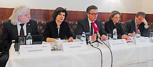 """Pressekonferenz der motiv.allianz.pflege """"Was die Pflege in Österreich braucht"""""""
