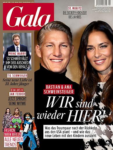 """GALA Cover 5/2020 (EVT: 23. Januar 2020) Weiterer Text über ots und www.presseportal.de/nr/6106 / Die Verwendung dieses Bildes ist für redaktionelle Zwecke honorarfrei. Veröffentlichung bitte unter Quellenangabe: """"obs/Gruner+Jahr, Gala"""""""