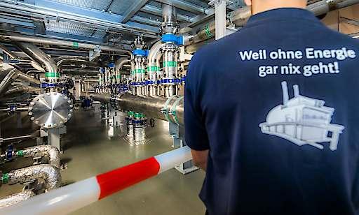 Boehringer Ingelheim eröffnet Energiezentrale