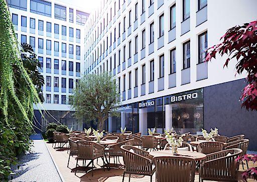 EIGHTY TWO I The Business Corner - Ansicht Atrium Innenhof